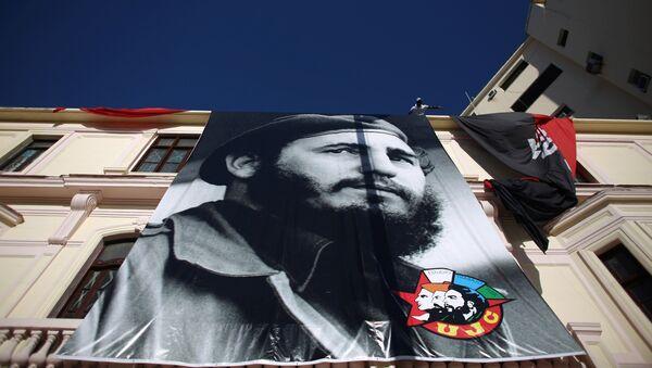 Куба отмечает 90-летие Фиделя Кастро - Sputnik Таджикистан