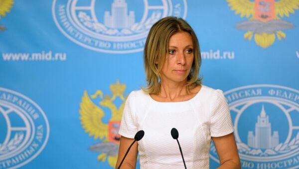 Официальный представитель министерства иностранных дел РФ Мария Захарова, архивное фото - Sputnik Таджикистан