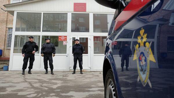 Сотрудники полиции в Самаре. Архивное фото - Sputnik Тоҷикистон