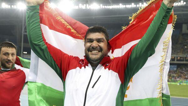 Дильшод Назаров завоевал олимпийское золото на Олимпийских играх в Рио-де-Жанейро - Sputnik Таджикистан