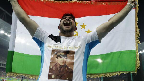 Дильшод Назаров на Олимпийских играх-2016 в Рио-де-Жанейро - Sputnik Таджикистан