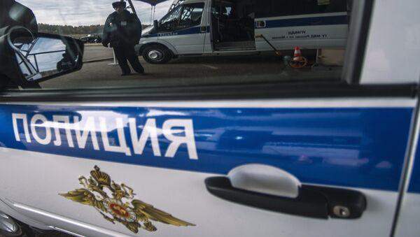 Полиция Москвы, архивное фото - Sputnik Таджикистан