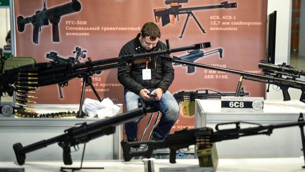 Выставка оружия. Архивное фото - Sputnik Тоҷикистон