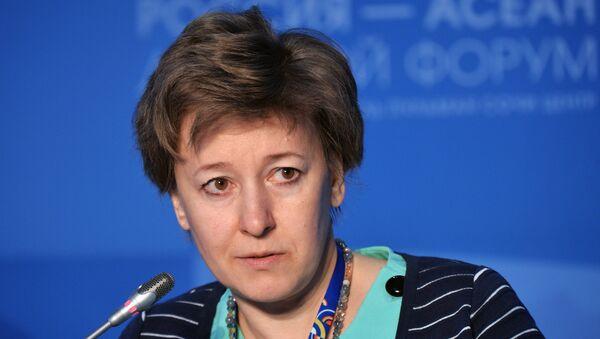 Член Коллегии (министр) по торговле Евразийской экономической комиссии Вероника Никишина. Архивное фото - Sputnik Таджикистан
