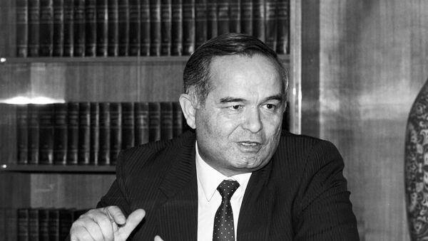 Президент Узбекистана Ислам Каримов. Архивное фото - Sputnik Тоҷикистон