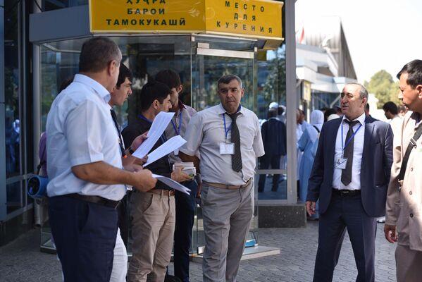 Как в Душанбе провожали паломников в хадж - Sputnik Таджикистан