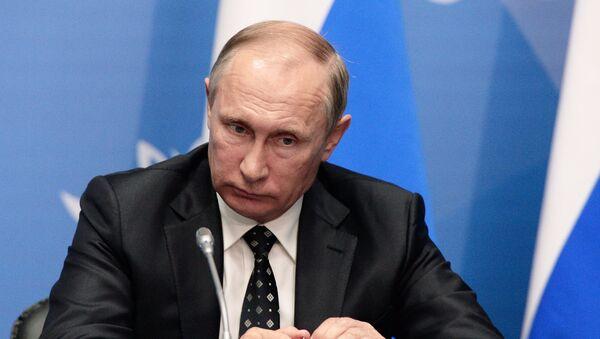 Президенти ФР Путин. Акс аз бойгонӣ - Sputnik Тоҷикистон