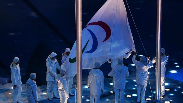 Паралимпийский флаг. Архивное фото - Sputnik Таджикистан