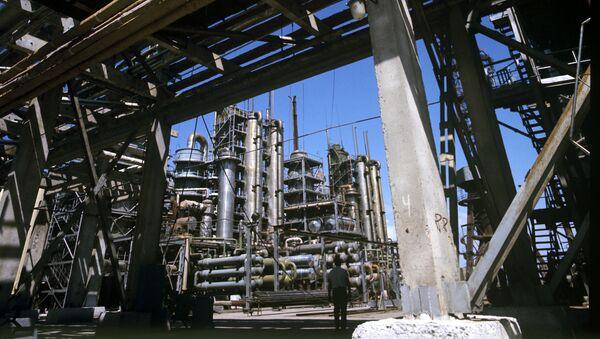 Вахшский азотно-туковый завод. Архивное фото - Sputnik Таджикистан