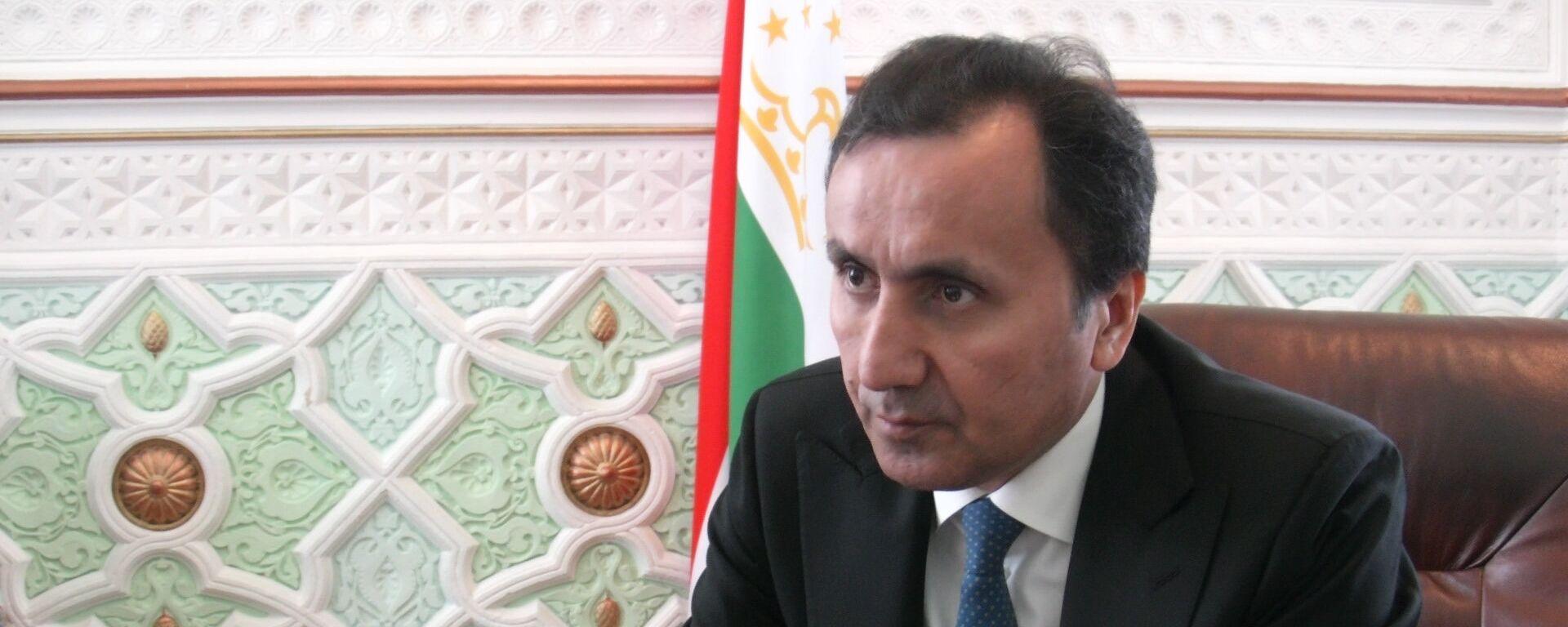 Посол Таджикистана в России Имомуддин Сатторов - Sputnik Тоҷикистон, 1920, 02.10.2019