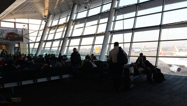 Международный аэропорт имени Ататюрка. Архивное фото - Sputnik Таджикистан