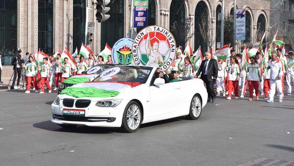 Празднование Дня Независимости в Душанбе - Sputnik Таджикистан