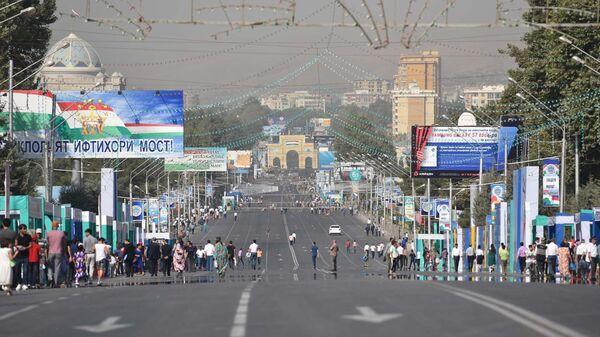 Празднование Дня Независимости в Душанбе - Sputnik Тоҷикистон