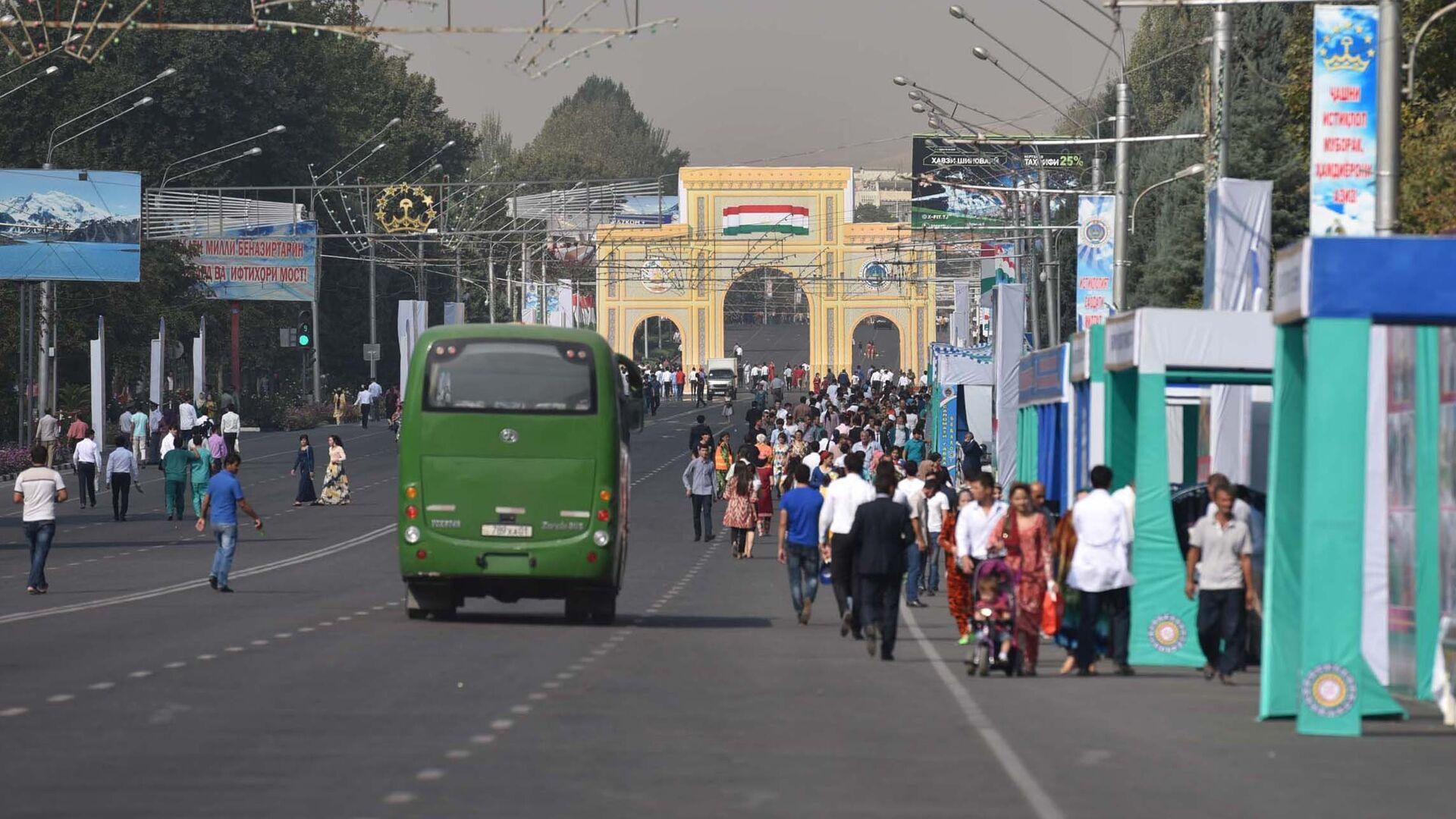 Празднование Дня Независимости в Душанбе - Sputnik Таджикистан, 1920, 06.09.2021