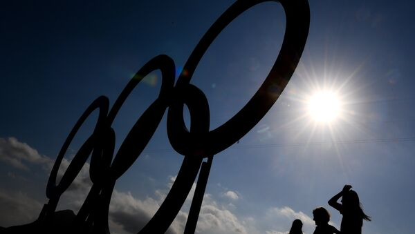 Дар боғи олимпии Рио-де-Жанейро. Акс аз богйонӣ - Sputnik Тоҷикистон