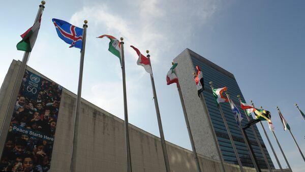 Здание ООН в Нью-Йорке, архивное фото - Sputnik Таджикистан