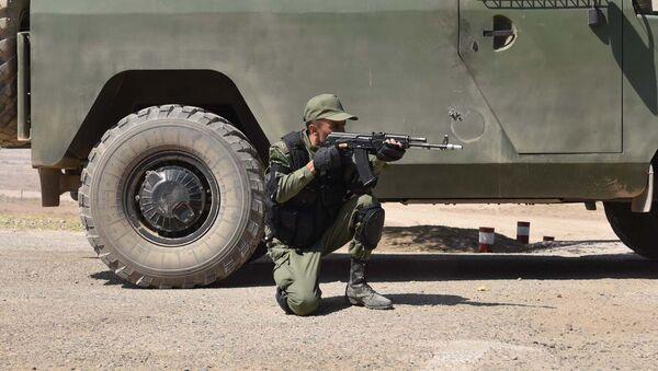 Совместные российско-таджикские военные учения в Таджикистане - Sputnik Таджикистан