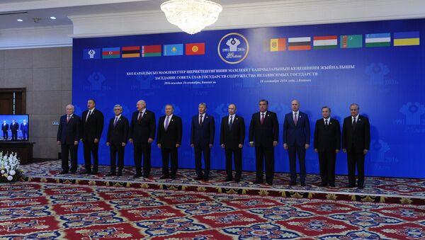 Президент РФ В. Путин принял участие в заседании Совета глав государств – участников СНГ - Sputnik Таджикистан