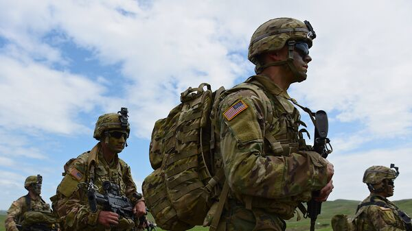Совместные военные учения вооруженных сил Грузии и США Достойный партнёр - Sputnik Таджикистан