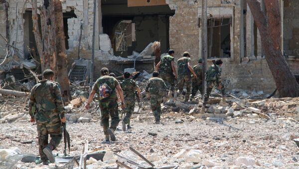 Сирийская армия освободила от боевиков территорию военных училищ в Алеппо - Sputnik Тоҷикистон
