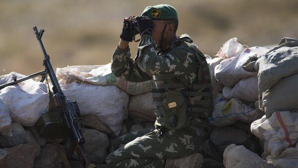 Учения Мирная миссия-2016 - Sputnik Таджикистан