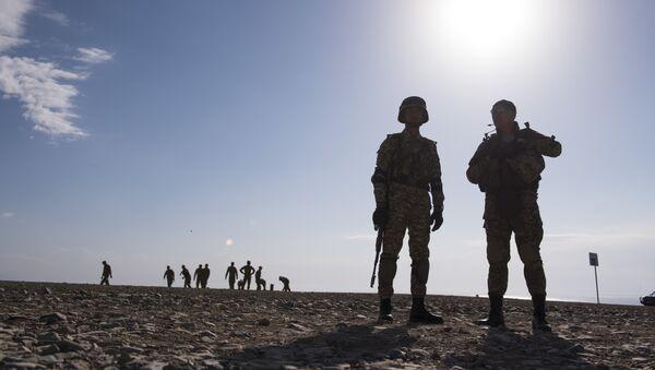 Военные учения, архивное фото - Sputnik Таджикистан