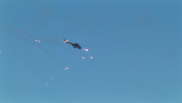 Counter-Strike от ШОС, или Как авиация и танки террористов уничтожали - Sputnik Таджикистан