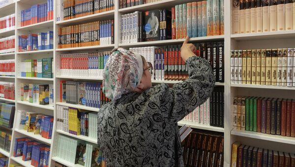 Книжная выставка, архивное фото - Sputnik Тоҷикистон