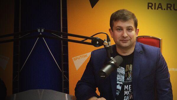 Профессор МГУ Андрей Манойло - Sputnik Таджикистан