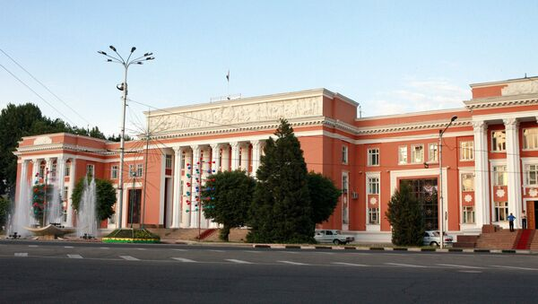 Здание парламента Республики Таджикистан, архивное фото - Sputnik Тоҷикистон