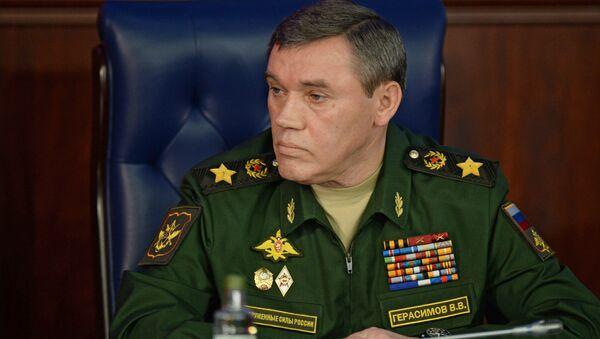 Начальник Генерального штаба Вооруженных сил РФ Валерий Герасимов, архивное фото - Sputnik Таджикистан
