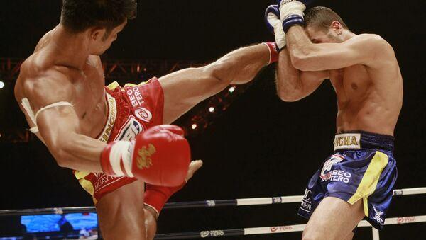Соревнования по тайскому боксу, архивное фото - Sputnik Таджикистан