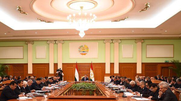 Заседание правительства Таджикистана - Sputnik Тоҷикистон