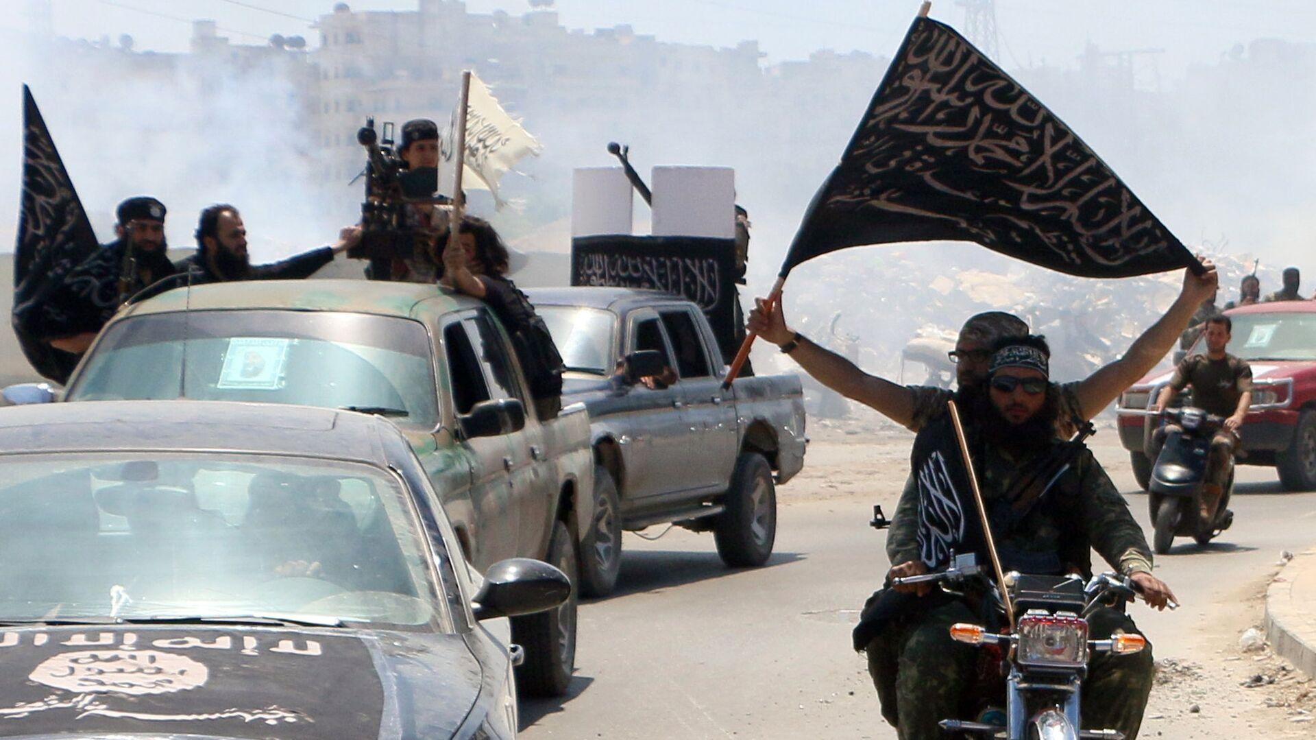 Боевики группировки Исламское государство (запрещена в России), архивное фото - Sputnik Таджикистан, 1920, 22.06.2021