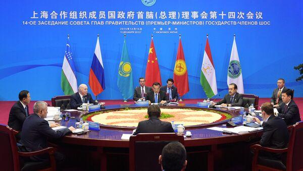 Заседание совета глав правительств государств - членов ШОС, архивное фото - Sputnik Таджикистан