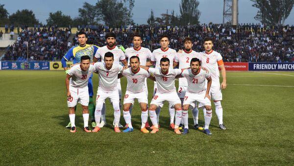 Товарищеский матч между сборными Таджикистана и Палестины - Sputnik Таджикистан