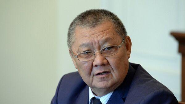 Токон Мамытов, архивное фото - Sputnik Таджикистан