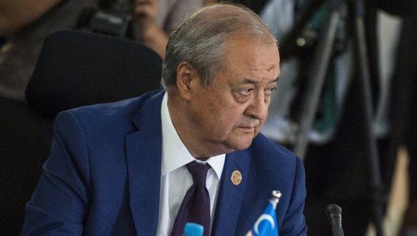 Министр иностранных дел Узбекистана Абдулазиз Камилов, архивное фото - Sputnik Таджикистан