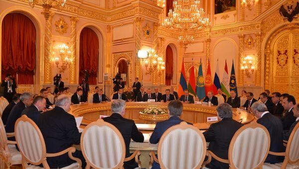Заседание Совета коллективной безопасности ОДКБ, архивное фото - Sputnik Таджикистан
