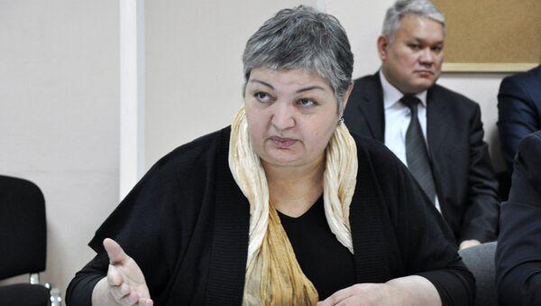 Гавхар Джураева, архивное фото - Sputnik Таджикистан