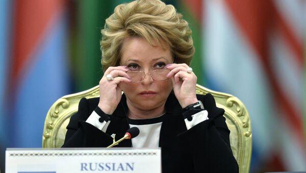 Валентина Матвиенко, архивное фото - Sputnik Тоҷикистон
