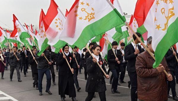 Празднование Дня флага в Таджикистане, архивное фото - Sputnik Таджикистан