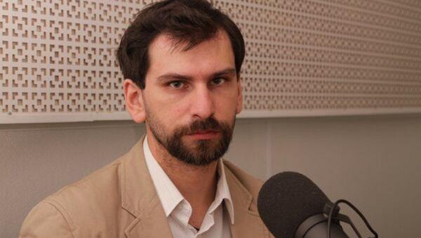 Дмитрий Александров, архивное фото - Sputnik Таджикистан