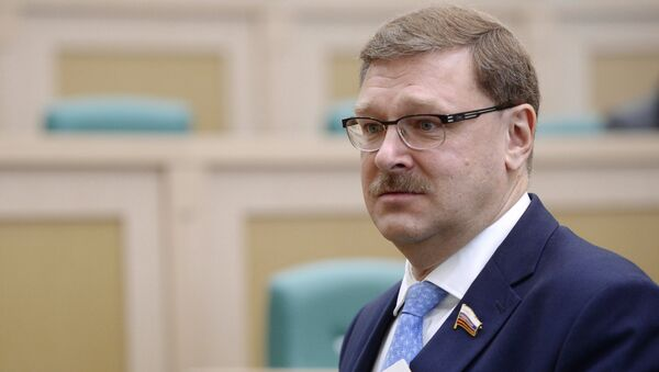 Председатель комитета Совета Федерации РФ по международным делам Константин Косачев, архивное фото - Sputnik Таджикистан