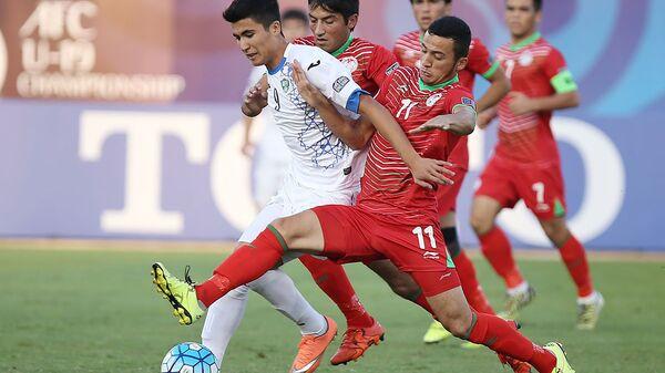 Матч молодежки Таджикистана против Узбекистана - Sputnik Тоҷикистон