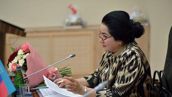 Директор Института демократии и прав человека в Узбекистане Сайёра Ходжаева, архивное фото - Sputnik Таджикистан