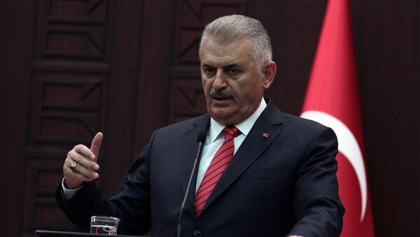 Премьер-министр Турции Бинали Йылдырым, архивное фото - Sputnik Таджикистан