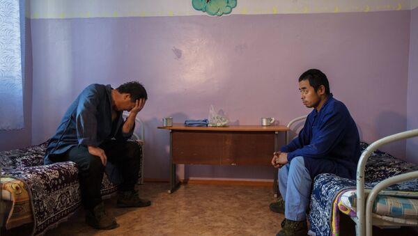 Спецприемник для нелегальных мигрантов, архивное фото - Sputnik Тоҷикистон