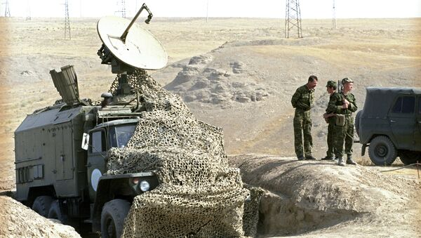 Пограничники, архивное фото - Sputnik Таджикистан