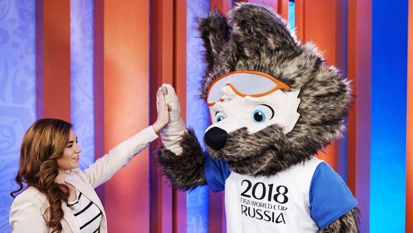 Презентация талисмана ЧМ-2018 по футболу - Sputnik Тоҷикистон